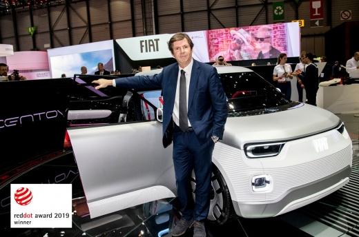 FIAT CONCEPT CENTOVENTI ОТРИМУЄ НАГОРОДУ «RED DOT AWARD 2019»